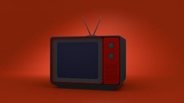 3D model tv cc