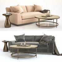 bakers laguna sofa 6 3D model