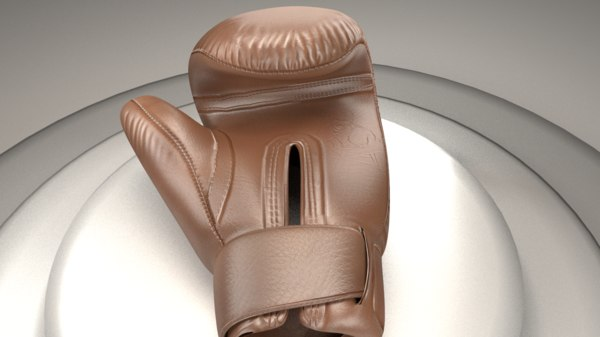 3D model boxing glove