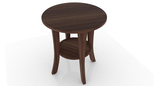 tea table 3D model