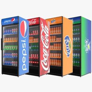 3D fridges cans