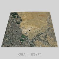 Giza Plateau Area Terrain