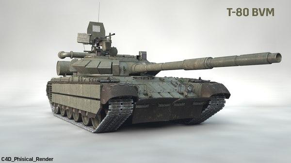 3D russian main battle