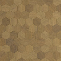 Wood wall Panel Hexagon