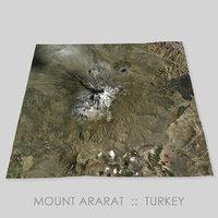 Mount Ararat Area Terrain