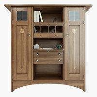 3D art craft bookcase