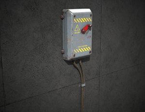 electrical switch games 3D model