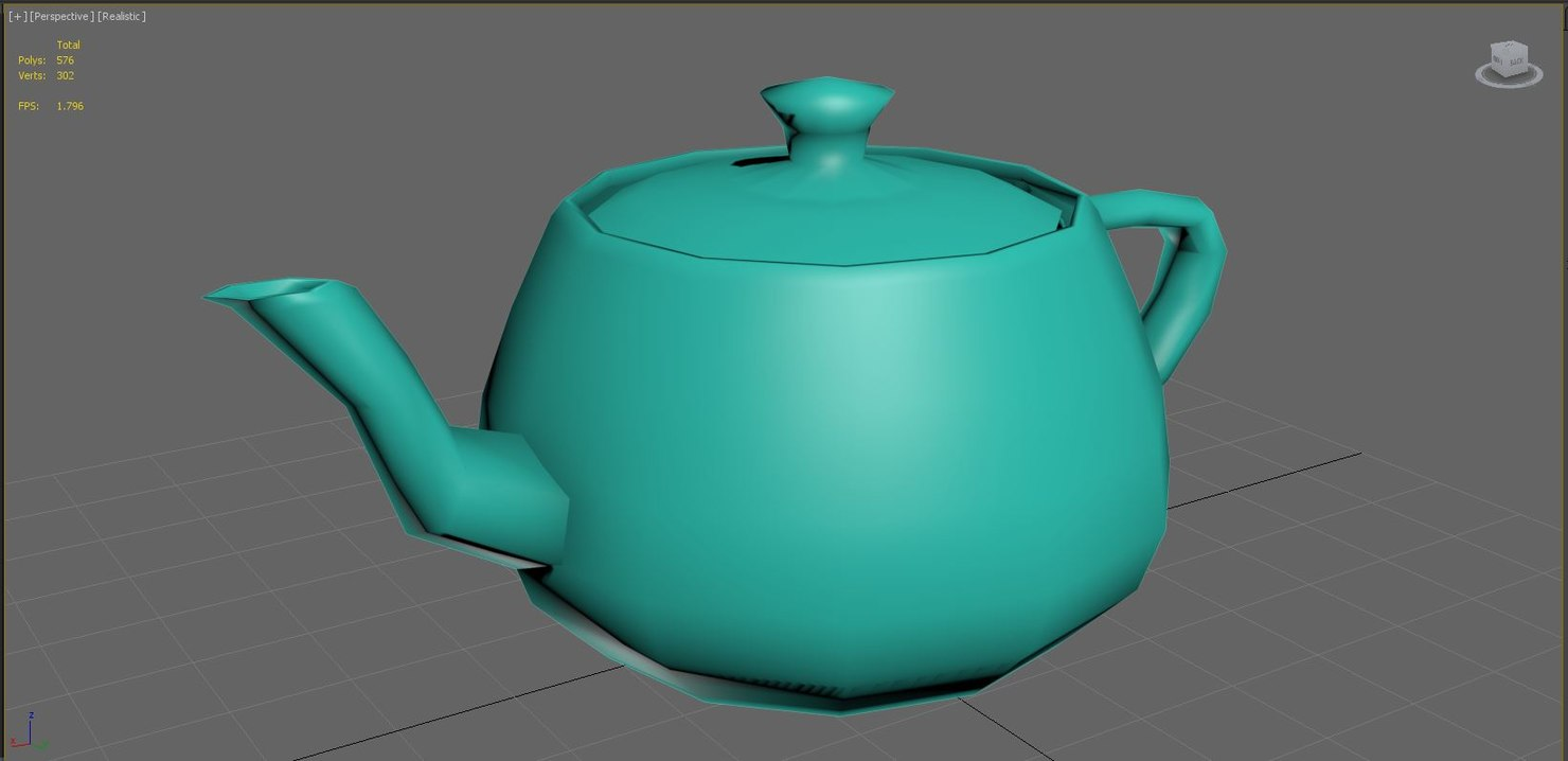 teapot model