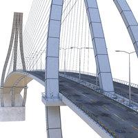 3D suspension bridge