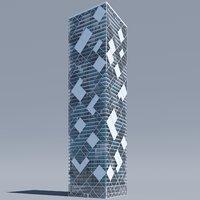 building structure 3D model