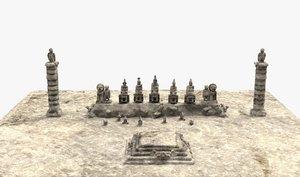 nemrut mountain kommagene 3D model