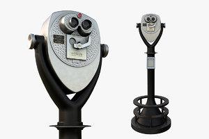 3D tower binocular viewer