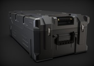 military crate 3D