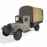 3D soviet truck