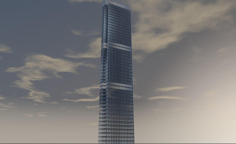 3D neva towers 1 model
