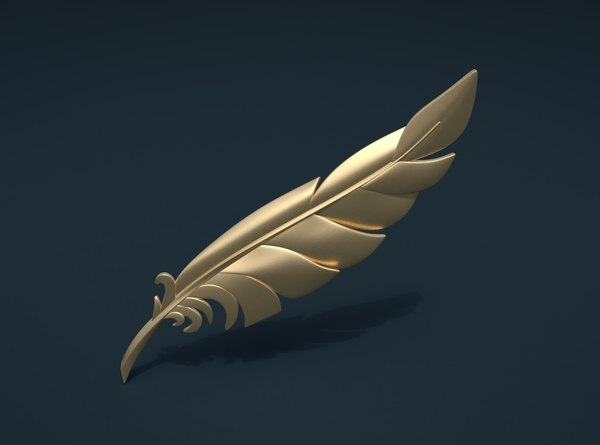 print ready feather model
