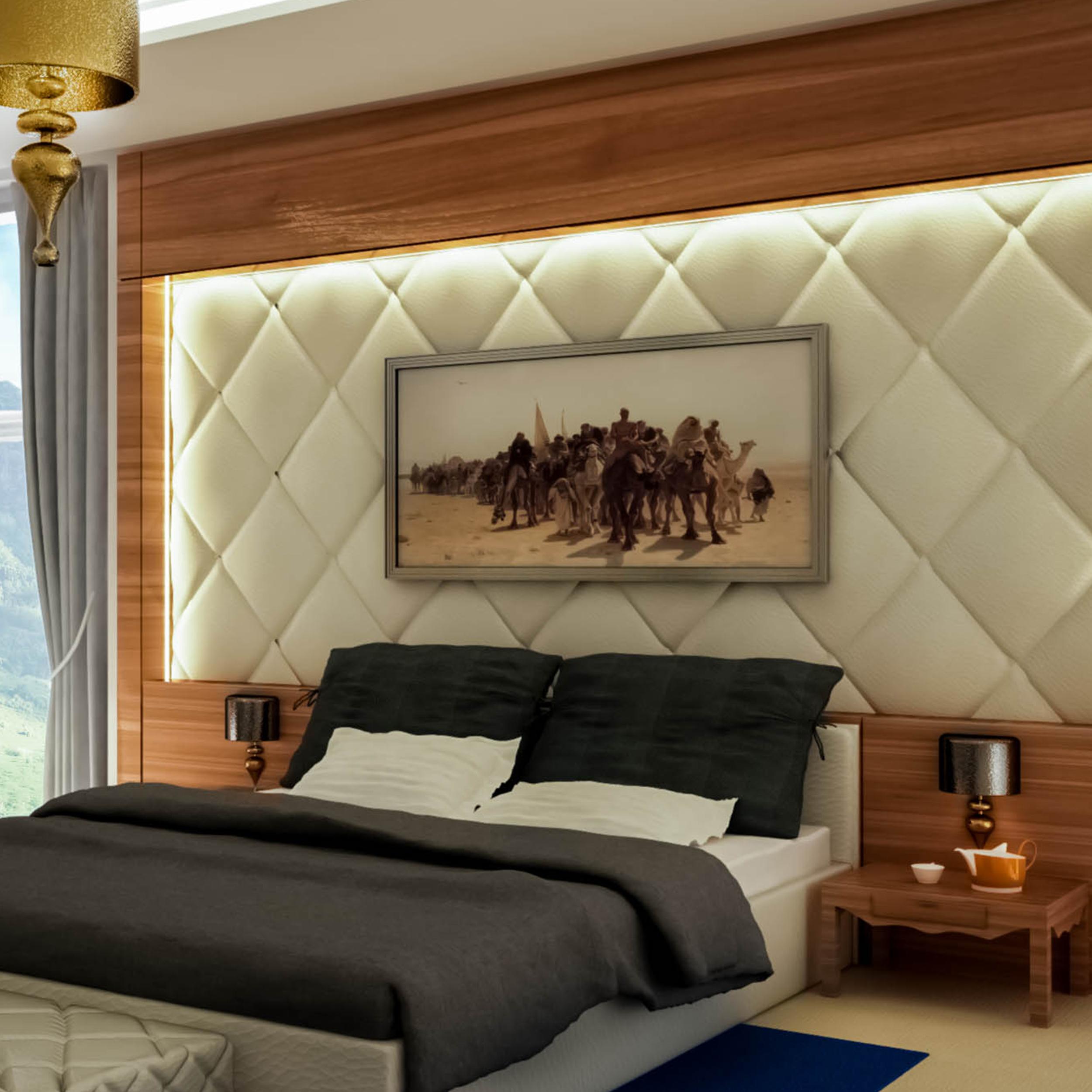 Model Bedroom Interior Design
