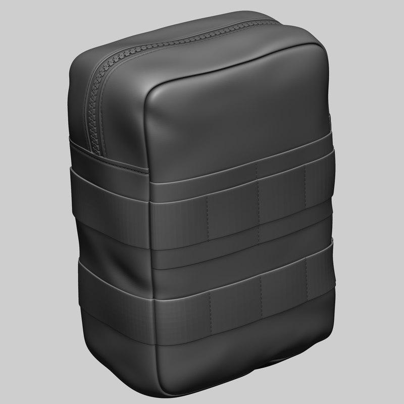utility pouch 3D