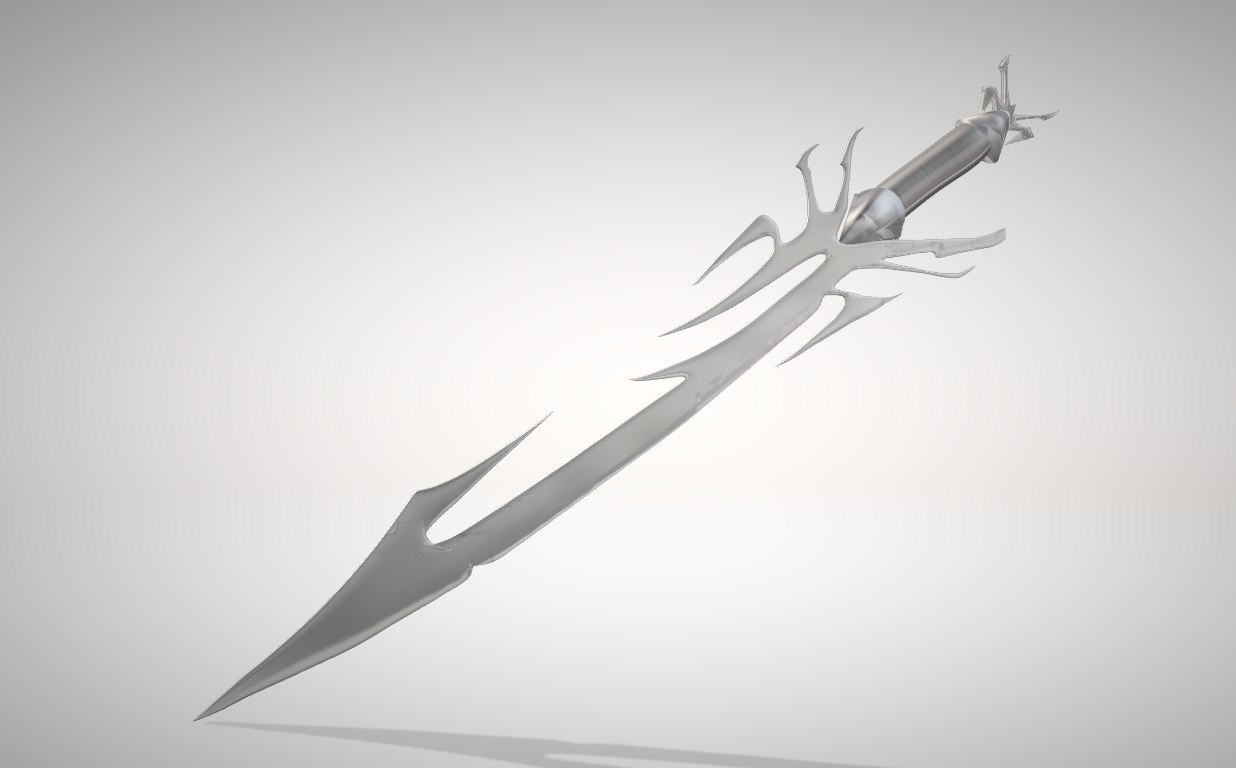3D spider sword