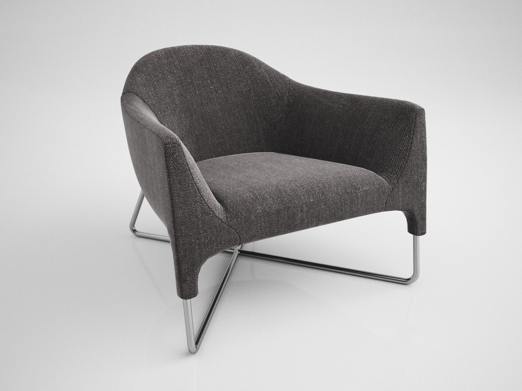 momelow chair 3D model