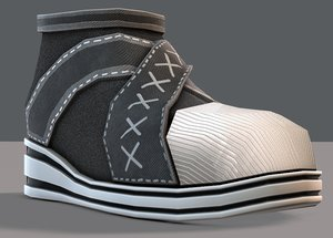 3D shoes cartoonv14 character cartoon