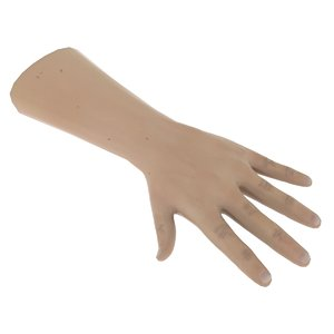 hand hdri shader 3D model