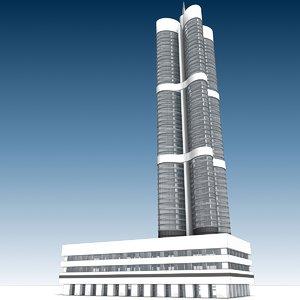 building 11 3D model