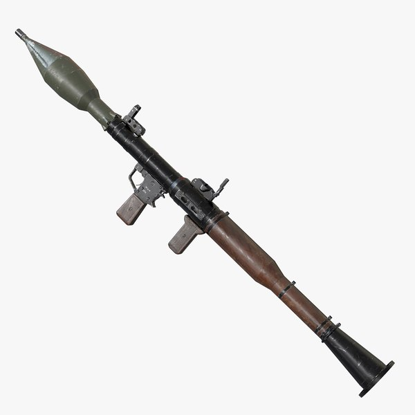 rpg-7 aaa games weapon 3D model
