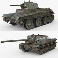 3D model tank 002