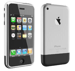3D iphone 2g 1st generation