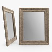 michelle mirror frame - 3D model