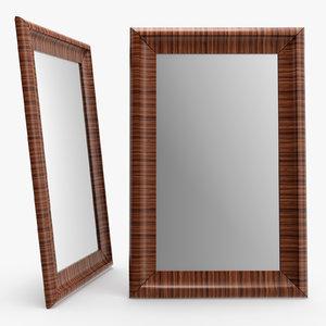 3D model galanthus mirror promemoria -