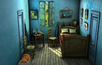 3D old room painter van