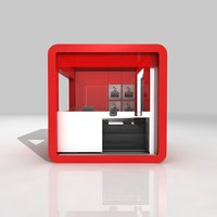 Cube Kiosk - Booth 3m x 3m