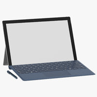 microsoft surface pro intel 3D