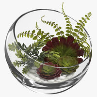table terrarium 3D model