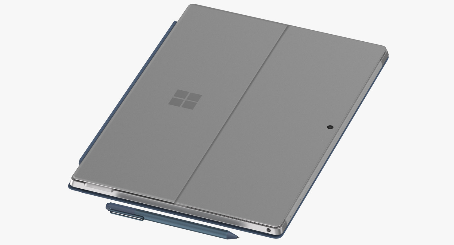 3D microsoft surface pro intel model
