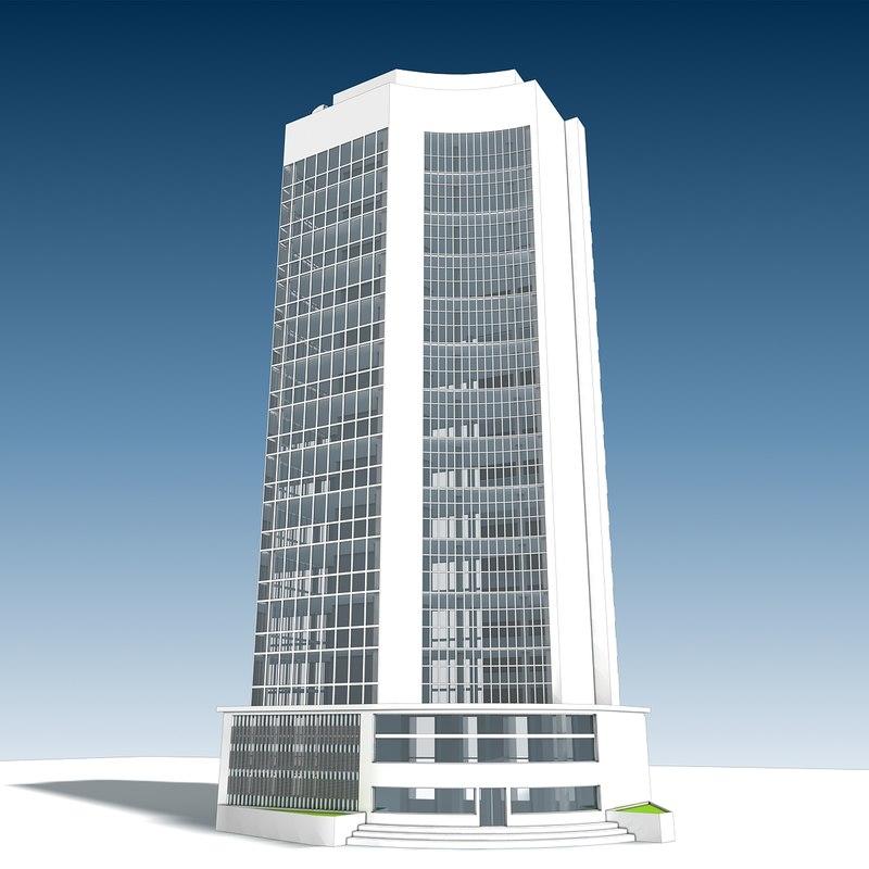 3D building 12