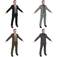 3D pack christopher walken model