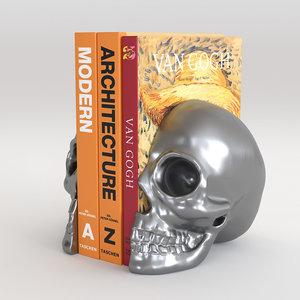 skull corona 3D model