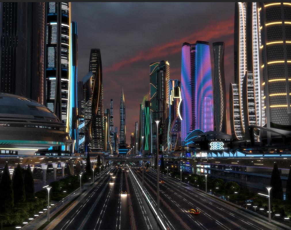 3D buildings main