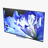 sony tv bravia af8 3D model