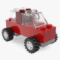 lego toycar 3D model