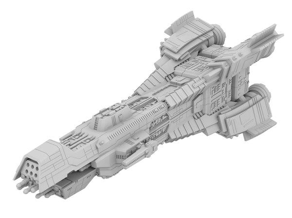 3D donnanger expanse model