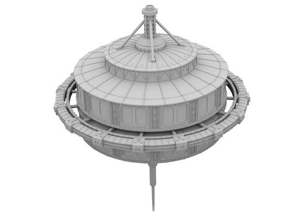 tyco station expanse 3D model