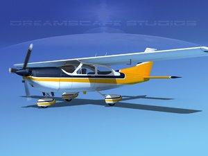 cessna 177 cardinal 3D model