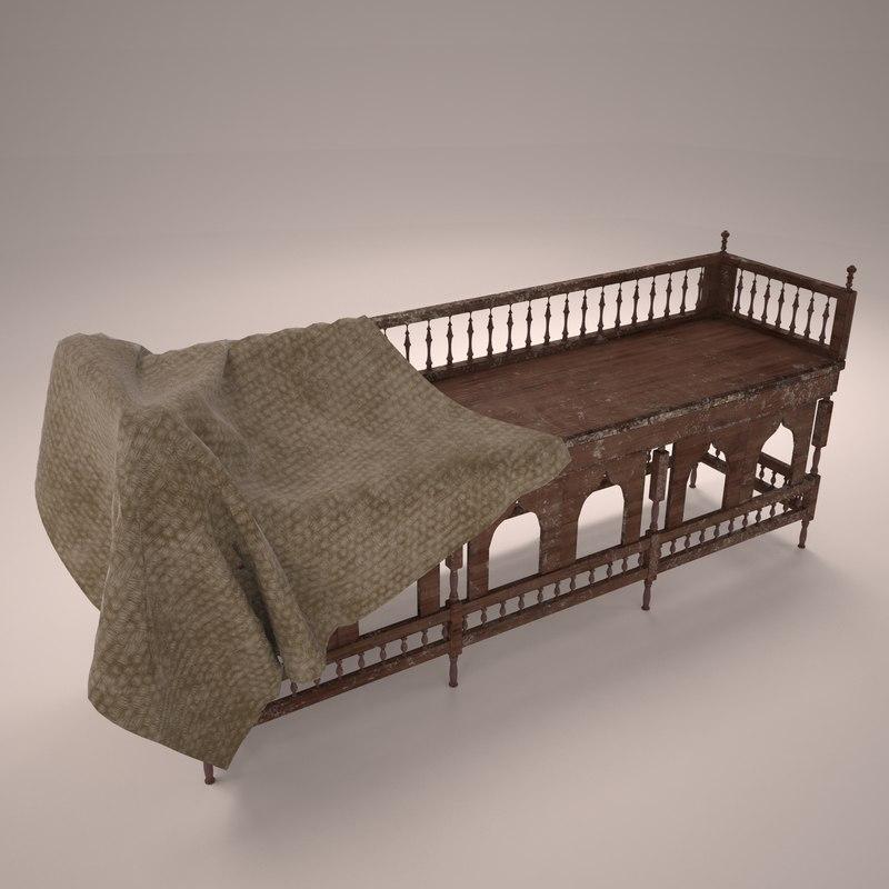 arabian chair 3D model