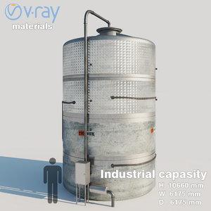 industrial capacity 2 3D model