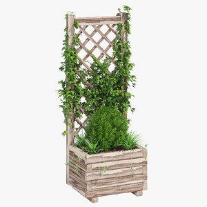 3D planter lattice