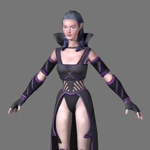 fantasy female 3D